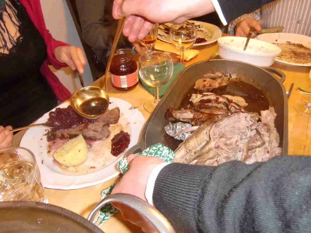 Über typisch deutsches Essen